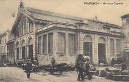 10740-PIACENZA-MERCATO COPERTO-1909-ANIMATA-FP - Mercati