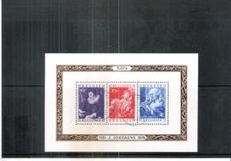 Belgium - BL.27 - Jordaens -  Obl/gest/used - Blocks & Sheetlets 1924-1960