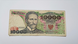 POLONIA 10000 ZLOTYCH 1988 - Polen