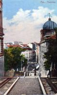 Cpa 1918 Chromo POLA, Vue De La Ville Au Plus Haut D´une Rue En Escaliers (52.80) - Croazia