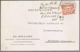 Nederland, 1923, For Freibourg - Periode 1891-1948 (Wilhelmina)