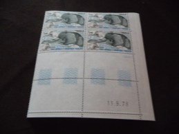 LOT  COLLECTION  TIMBRES  TAAF  COINS  DATES   N  78  NEUFS  LUXE** - Colecciones & Series