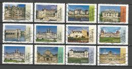 #  France / Adhesif / N° 1108 à 1119 Oblitéré / Architecture Renaissance En France / 2015 / Lot N° 026 Serie - France