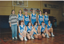25939 Rennes France Equipe Feminine Sport Basket 1993 -publicité Pitch Brioche De Poche -