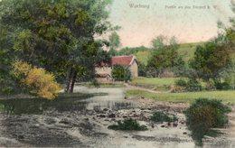 WARBURG.  -  PARTIE AN DER DIEMEL B. W. -  Septembre 1907 - Warburg