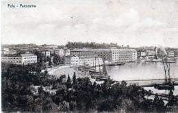 Cpa POLA, Panorama Sur Le Port Et Les Quais, (52.82) - Croatie