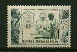 Océanie * N° 201 - Au Profit Des Oeuvres Sociaales De La France - Oceania (1892-1958)
