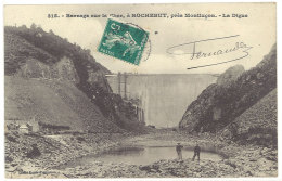 Cpa Barrage Sur Le Cher, à Rochebut, Près Montluçon       ((S.935)) - France