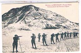 05  ENVIRONS  DE  BRIANCON  EXERCICES  DE  TIR  DES  CHASSEURS  ALPINS  TBE  1P80 - Briancon