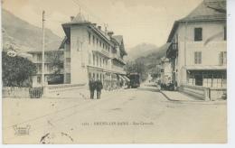 BRIDES LES BAINS - Rue Centrale (tramway ) - Brides Les Bains