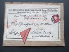 DR 1933 Ebert Nr. 421 EF Päckchen / Nachnahme!! Rothenburger Kinderwagenfabrik Haag & Saalmüller - Briefe U. Dokumente