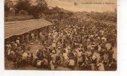 CONGE BELGE  Le Marche Indigene  A Madimba - Congo Belge - Autres