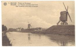 Cpa Brugge / Bruges - Les Moulins Avec Porte Ste-Croix   ((S.946)) - Brugge