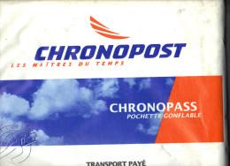 Entier Grande Enveloppe Pochette Gonflable Chronopost Modèle 1995 SPECIMEN - Entiers Postaux