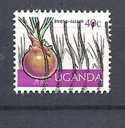 UGANDA      1975 Ugandan Crops USED  Allium Cepa - Uganda (1962-...)