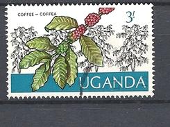 UGANDA      1975 Ugandan Crops USED Coffea Arabica - Uganda (1962-...)