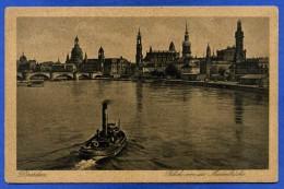 DRESDEN - BLICK VON DER MARIENBRUCHE -  1925 - Dresden