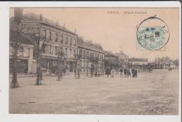 CPA - CREIL - Place Carnot - Creil