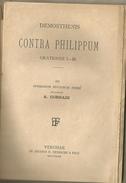 Demostene, Contra Philippum, Orationes I-III, Testo Greco, Recognovit A. Corradi, Ed. Tedeschi, Verona, 1893, Pp.48. - Libri Vecchi E Da Collezione