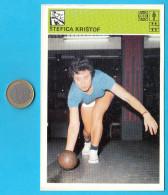 BOWLING - Stefica Kristof  ( Yugoslav Vintage Sport Trading Card World Of Sports ) * Bowl - Bowling