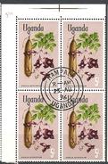 UGANDA    1969 Flowers USED Kigelia Aethiopium - Uganda (1962-...)