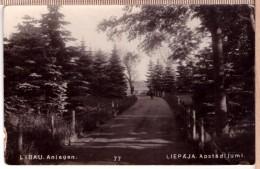 Latvia Lettland Kurland Kurzeme Libau Liepaja Apstadijumi Bokums Foto 1934 - Latvia
