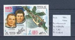 USSR 1981 - YT 4786/87 Postfris/neuf/MNH