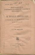 Cicerone Marco Tullio, Librorum De Re Publica Sex, Recognovit C.F.W. Muller, Lipsia, Teubneri, 1895, Pp. 269/380. - Libri Vecchi E Da Collezione