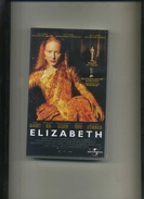 CASSETTE VHS . ELIZABETH . - Historia