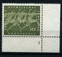 Bund 333, Formnummer, Olympische Sommerspiele - BRD
