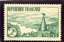 FRANCE 1935 - Rivière Bretonne - 2 F. Vert - N° 301 - (**) - (Grand Déstockage Au 1/4 De La Cote) - Unused Stamps