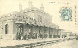 N°52049 -cpa Oissel -la Gare- - Gares - Sans Trains