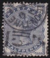Great  Britain   .   Yvert    .    76      .      O   .      Gebruikt   .   /  .  Cancelled - 1840-1901 (Victoria)