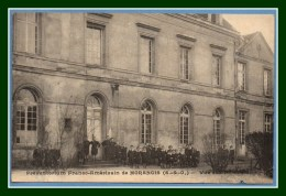 CPA MORANGIS Préventorium Franco - Américain Vue Sur Les Cours Non écrite - Francia