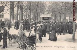 PARIS 8eme CHAMPS-ELYSEES LES GUIGNOLS THEATRE ATTELAGE DE CHEVRE METIER PARC MARIONNETTE - Petits Métiers à Paris