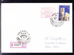 COB ATM 63, 80fr Sur Recommandé, FDC. (6AL493) - Postage Labels