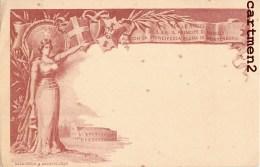 ENTIER POSTAL 1896 PER NOZZE DI S.A.R. IL PRINCIPE NAPOLI CON LA PRINCIPESSA ELENA DI MONTENEGRO FILATELIA MATRIMONIO - Case Reali