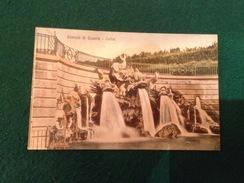 Cartolina Reggia Di Caserta Cascata Delfini Viaggiata 1916 - Caserta