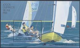 Portugal  1988  Yvertn° Bloc 61 *** MNH Cote 10 Euro Sport Seoul - Blocchi & Foglietti