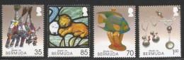 2005 Bermuda Made In Bermuda CRAFTS Complete Set Of 4 MNH - Bermuda