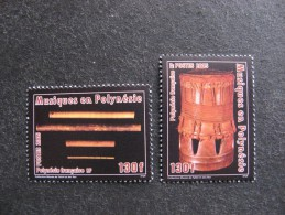 Polynésie: TB Paire N° 752 Et N° 753, Neufs XX. - Neufs