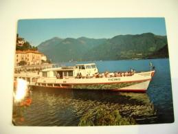 Como Porlezza Lago Di Lugano Battello Ticino   VIAGGIATA  COME DA FOTO  NAVE  SHIP - Chiatte, Barconi