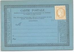 CIRC8- COCHINCHINE  EP CP ACEP N° 2a NEUVE - Cochinchine (1886-1887)