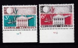 Belgie Plaatnummer COB** 1191-1192.2 - 1961-1970