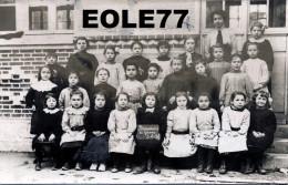 77 - Carte Photo - BEAUMONT DU GATINAIS - Groupe - Ecoliers - Ecolier - Ecole - France
