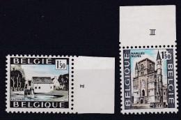Belgie Plaatnummer COB** 1541-1542 - 1961-1970