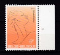 Belgie Plaatnummer COB** 1928.6 - Plate Numbers