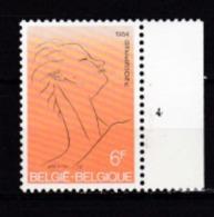 Belgie Plaatnummer COB** 1928.4 - Plate Numbers