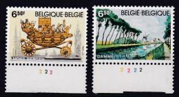 Belgie Plaatnummer COB** 1976-1977.2 - 1971-1980
