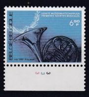 Belgie Plaatnummer COB** 2016.3 - 1981-1990